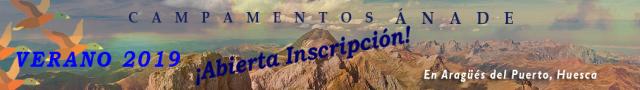 Campamentos y Colonias de Verano Ánade en el Pirineo Aragonés para chicos y chicas de 7 a 16 años - ABIERTA LA INSCRIPCIÓN VERANO 2019
