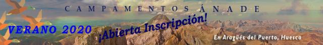 Campamentos y Colonias de Verano Ánade en el Pirineo Aragonés para chicos y chicas de 7 a 16 años - ABIERTA LA INSCRIPCIÓN VERANO 2020